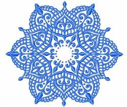 Mandala Design embroidery design