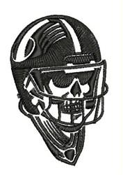 Football Skull embroidery design