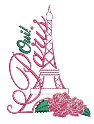 Oui Paris embroidery design