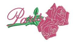 Paris Roses embroidery design