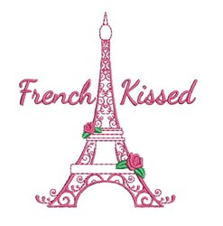 French Kissed embroidery design