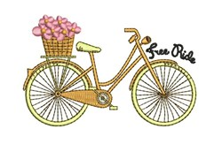 Free Ride embroidery design