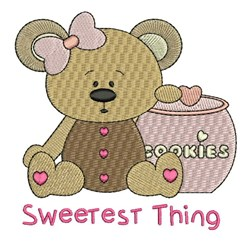 Sweetest Thing embroidery design