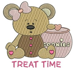 Treat Time embroidery design