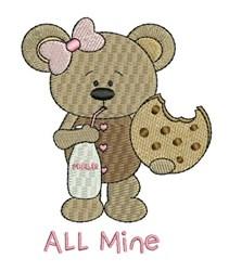 All Mine embroidery design