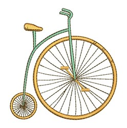 Big Wheel Bike embroidery design