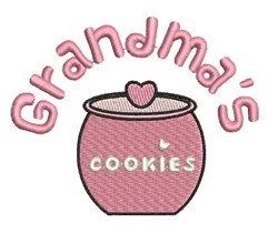 Grandmas Cookies embroidery design