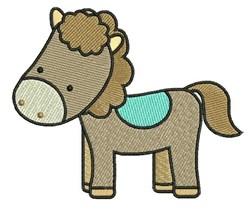 Cartoon Horse embroidery design