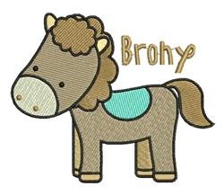 Brony embroidery design