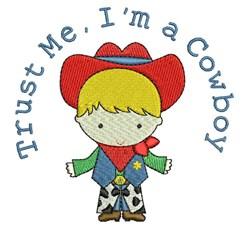 Im A Cowboy embroidery design