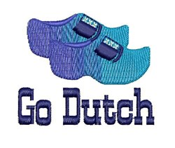 Go Dutch embroidery design