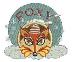 Foxy embroidery design