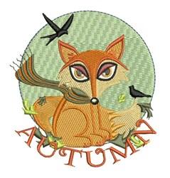 Autumn Fox embroidery design
