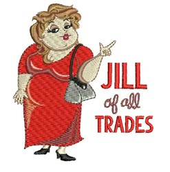 Jill Of All Trades embroidery design