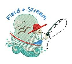 Field & Stream embroidery design