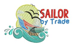 Sailor By Trade embroidery design