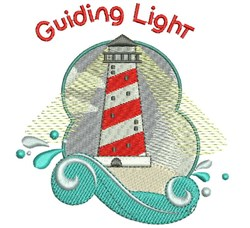 Guiding Light embroidery design