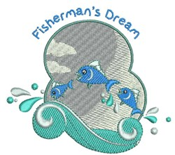 Fishermans Dream embroidery design