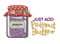 Add Peanut Butter embroidery design