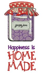 Homemade Happiness embroidery design