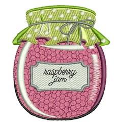 Raspberry Jam embroidery design