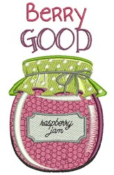 Berry Good embroidery design