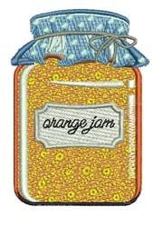 Orange Jam embroidery design