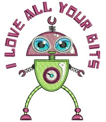 Love Your Bits embroidery design