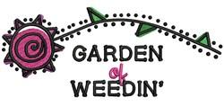 Garden Of Weedin embroidery design