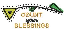 Count Your Blessings embroidery design
