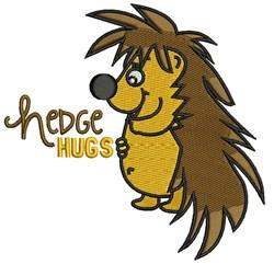 Hedge Hugs embroidery design