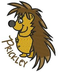 Prickley embroidery design