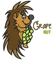 Grape Nut embroidery design