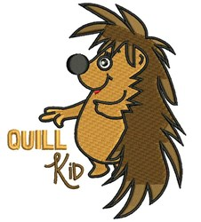 Quill Kid embroidery design