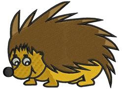 Cartoon Porcupine embroidery design