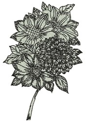 AFC616A embroidery design