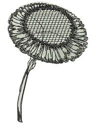 Sunflower embroidery design