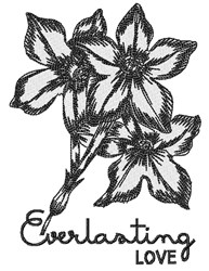 Everlasting Love embroidery design
