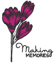 Making Memories embroidery design