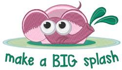Big Splash embroidery design