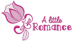 Little Romance embroidery design
