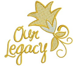 Our Legacy embroidery design