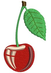 Cherry Stem embroidery design