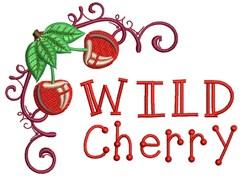 Wild Cherry embroidery design