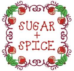 Sugar And Spice embroidery design