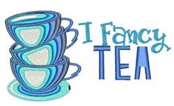 I Fancy Tea embroidery design