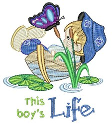 This Boys Life embroidery design