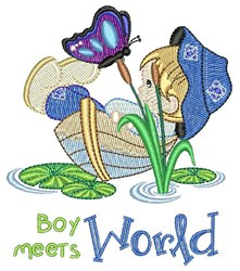 Boy Meets World embroidery design
