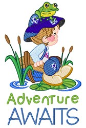 Adventure Awaits embroidery design