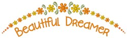 Beautiful Dreamer embroidery design